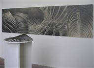 Skeleton, pencil on paper, 90x320cm, 2006